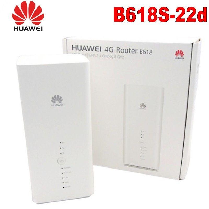 Entsperrt Neue Huawei B618 B618S-22d Cat9/11 450 Mbps 4G LTE CPE WiFi Router Unterstützung VoIP VoLTE 4G Wireless Router PK B315 E5186