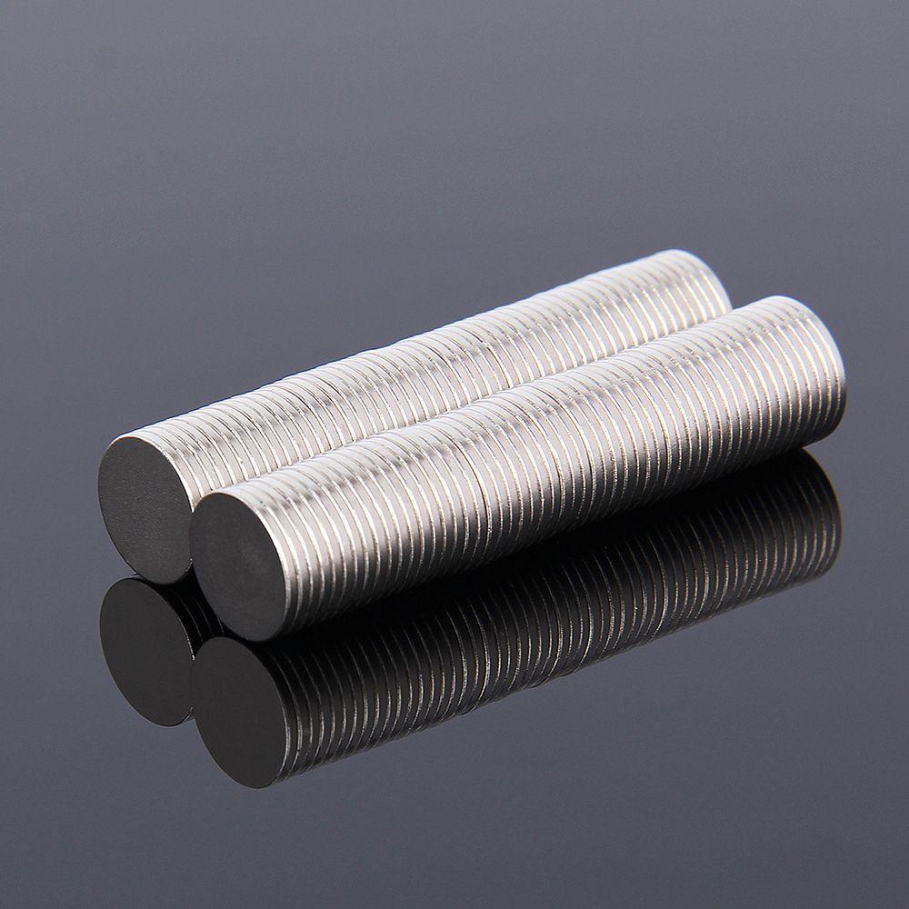 Hakkin 100Pcs 10*1 mm N35 Super Strong Rare Earth NdFeB Magnets Neodymium Magnet 10mm*1mm Round Cylinder Permanent Sheet
