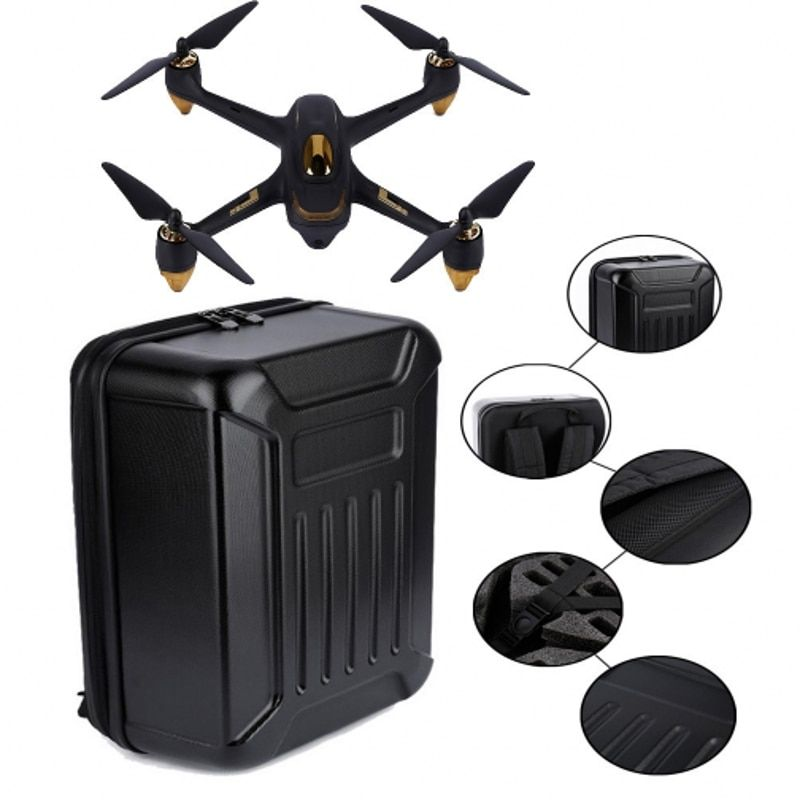 LeadingStar For Hubsan X4 H501S Bag RC Drone Portable waterproof Carry Case Backpack Hard Shell Storage Box D20