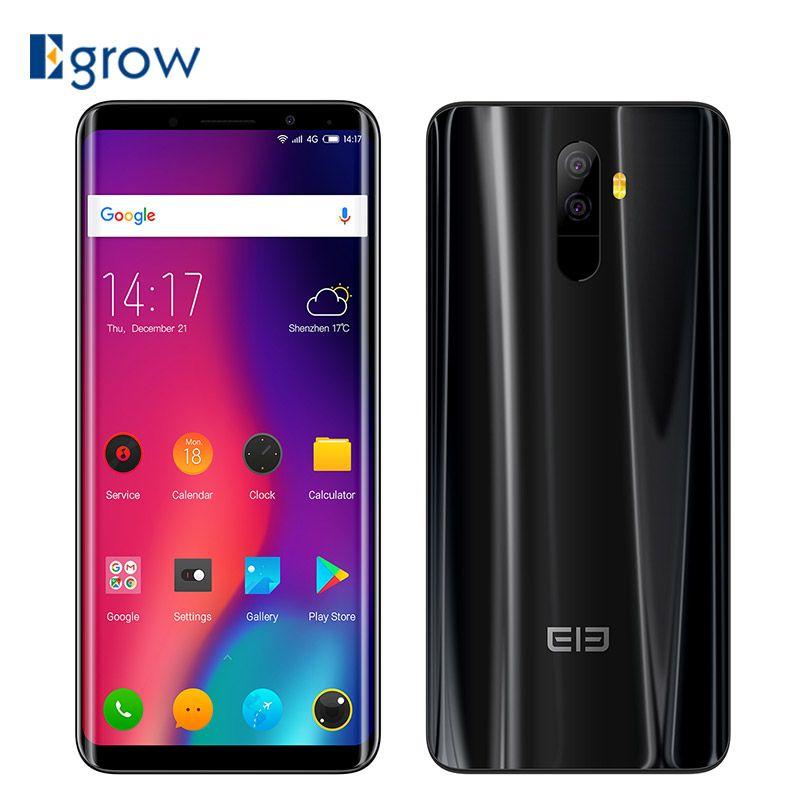 Elephone U Pro 4G Smartphone 5.99'' Android 8.0 Qualcomm Snapdragon 660 Octa Core 6GB RAM 128GB ROM 13MP+13MP Dual Rear Cameras