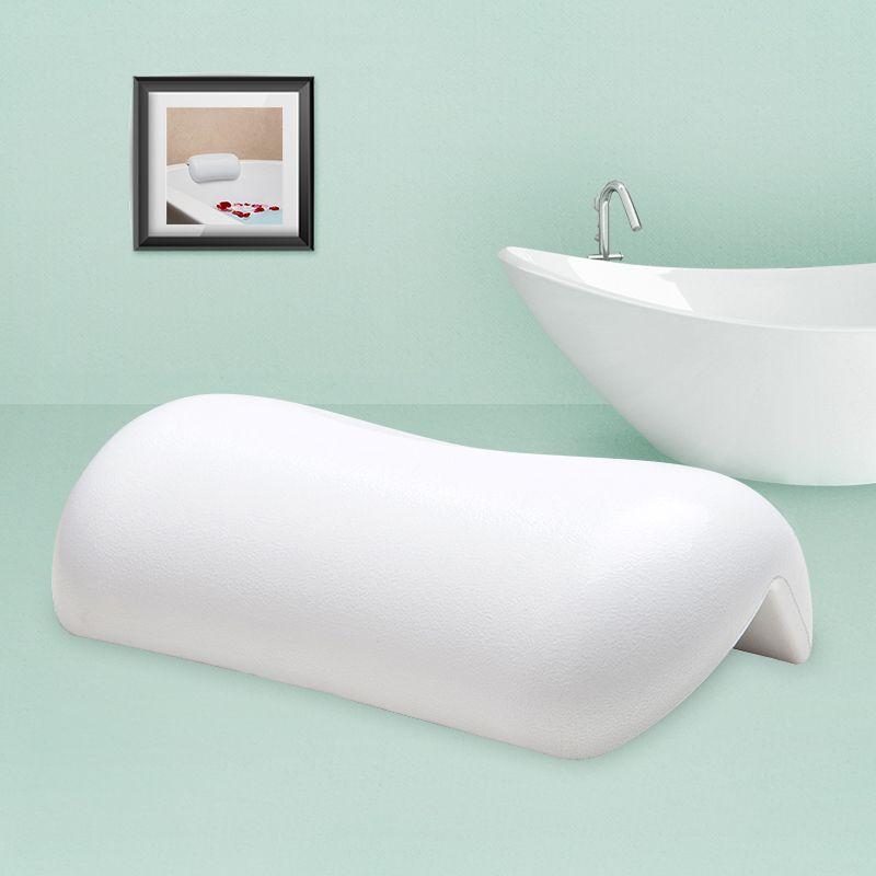 Salle de bains Oreiller coussin de bain Blanc et Noir Étanche Oreillers de Bain Confortable Baignoire Appui-Tête Avec ventouse