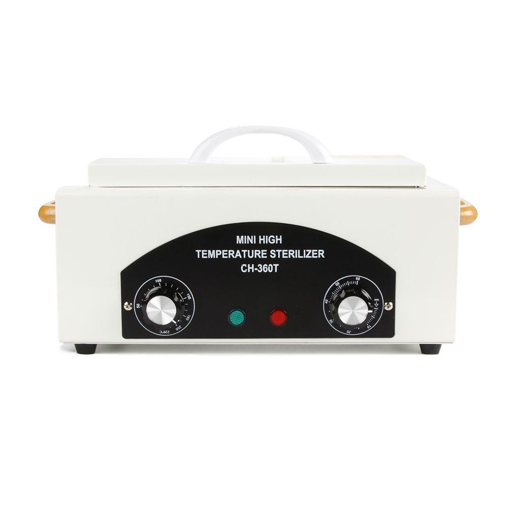 High Temperature Sterilizer Box For Manicure Nail Art Tools Pedicure Tool Salon Sterilizing Dry Heater Manicure Instrum