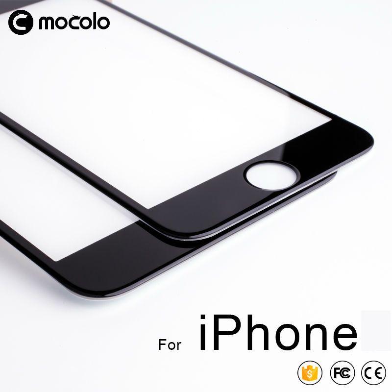 Pour iPhone 8 7 6 6 s protecteur d'écran Mocolo Real 3D couverture complète 9 H Film en verre trempé pour iPhone X Xs Xs Max XR protecteur d'écran