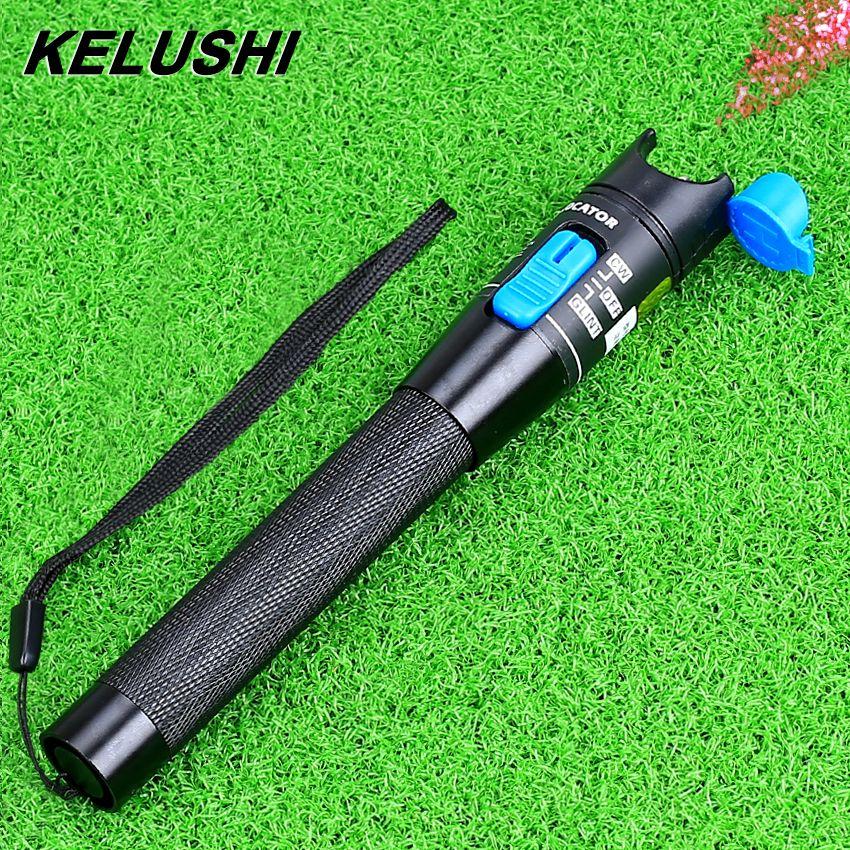 KELUSHI 1-5 KM 1 MW ftth testeur de câble à fibre optique traqueur de défaut visuel localisateur de défaut laser à fibre optique outil de fibre optique