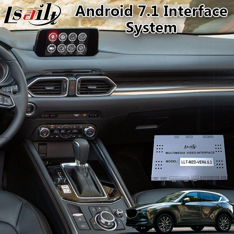 Android 7.1 Video Integration Interface für Mazda CX-5 unterstützung APP/MCU Online upgrade, Auto Gps Navigator Box