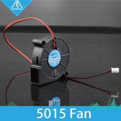 3D Imprimante Ventilateur 5015 12 V 24 V 0.15A Manches Roulement Brushless ventilateur centrifuge pour Reprap i3 DC Ventilateur De Refroidissement Turbo ventilateur 5015 S