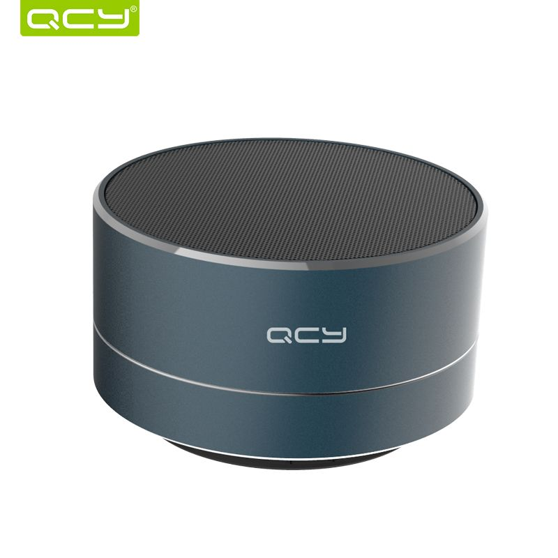 QCY A10 wireless bluetooth speaker metal mini portable speaker subwoof with MIC support TF card FM radio