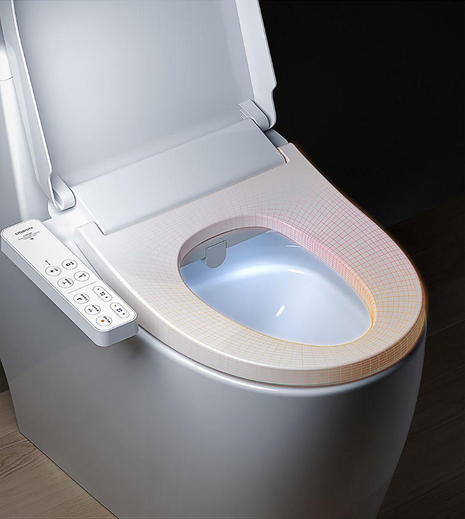 Xiaomi Smart Toilet Seat Cover Electric Bidet Pack Durable Smart Toilet Cover Exquisite Waterproof Toilet Seat