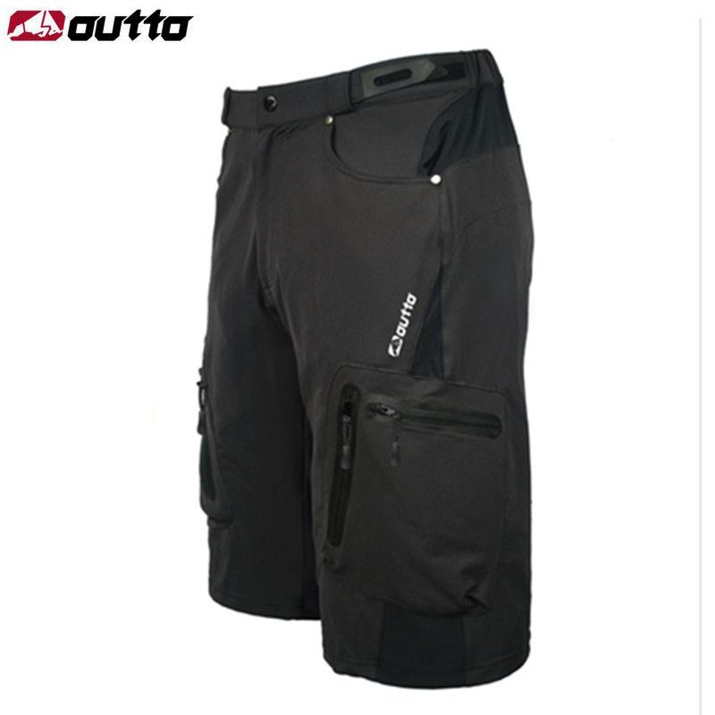 OUTTO Men's Cycling Shorts MTB Mountain Bike Ropa Breathable Loose Fit For Outdoor Sports Running Bicycle Riding Shorts