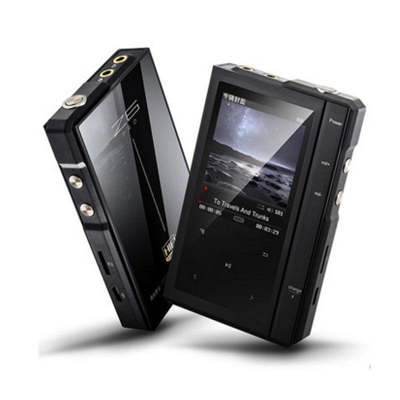 Original Clair De Lune AIGO Z6Pro Hifi Musique Lecteur Dur DSD MP3 Lecteur ES9018Q2C CAD Dual-Core CPU + Étui En Cuir NXPLPC4357 Max128GB