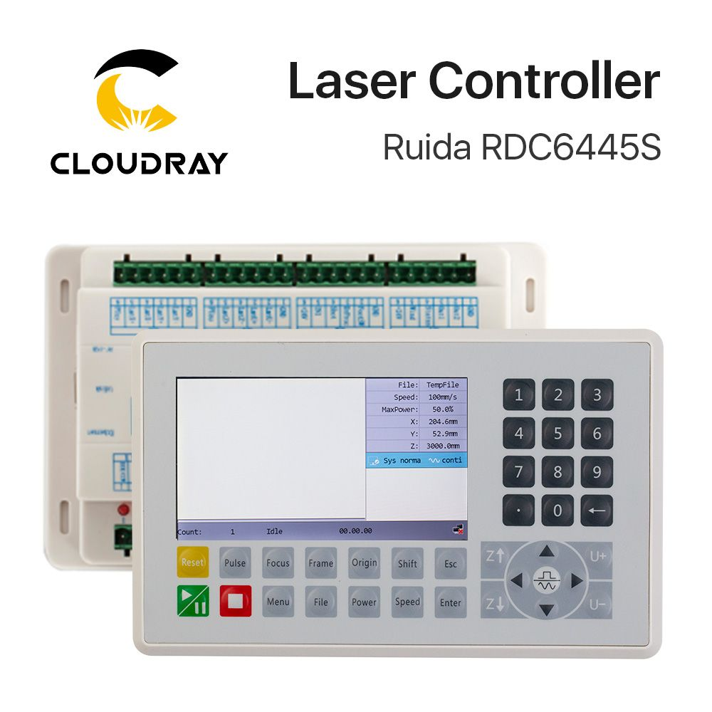 Ruida RDC6445 RDC6445G <font><b>Controller</b></font> for Co2 Laser Engraving Cutting Machine Upgrade RDC6442 RDC6442G