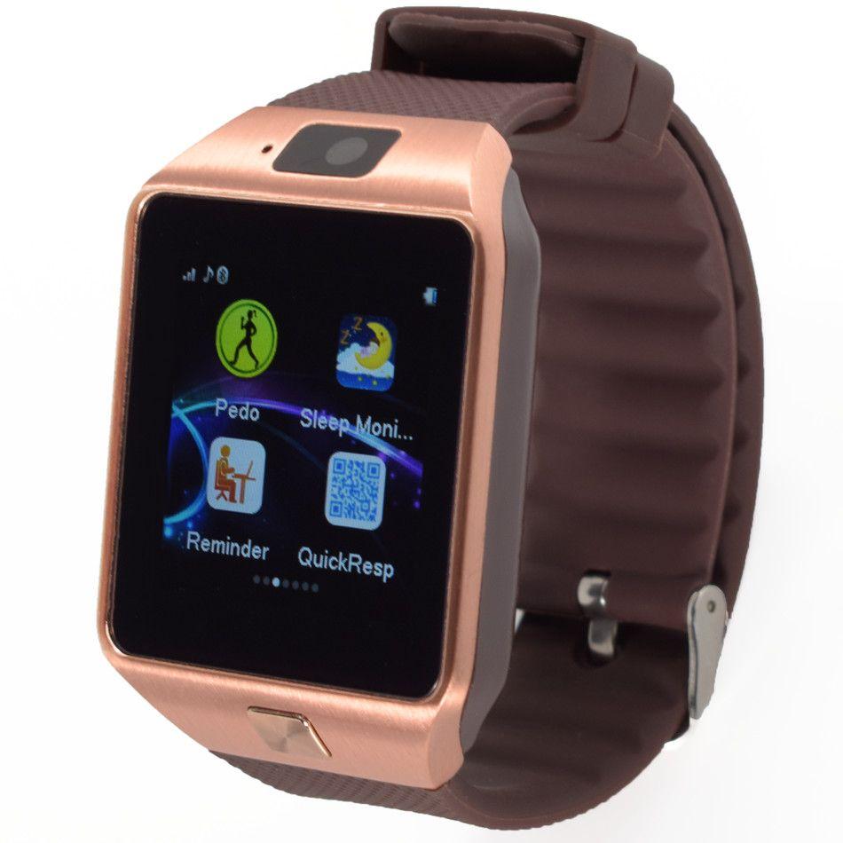 Smart <font><b>Watch</b></font> G1 Clock Sync Notifier Support SIM TF Card Connectivity Android Phone Smartwatch Czech Dutch Hungarian Arabic Hebrew