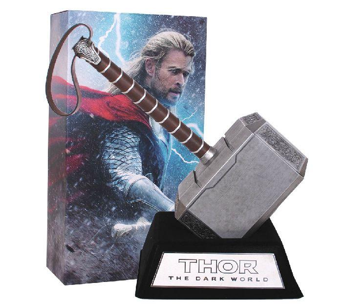 Super hero The Avengers Quake Thor's Hammer movie props 1:1 model Cosplay appliances Thor hammer