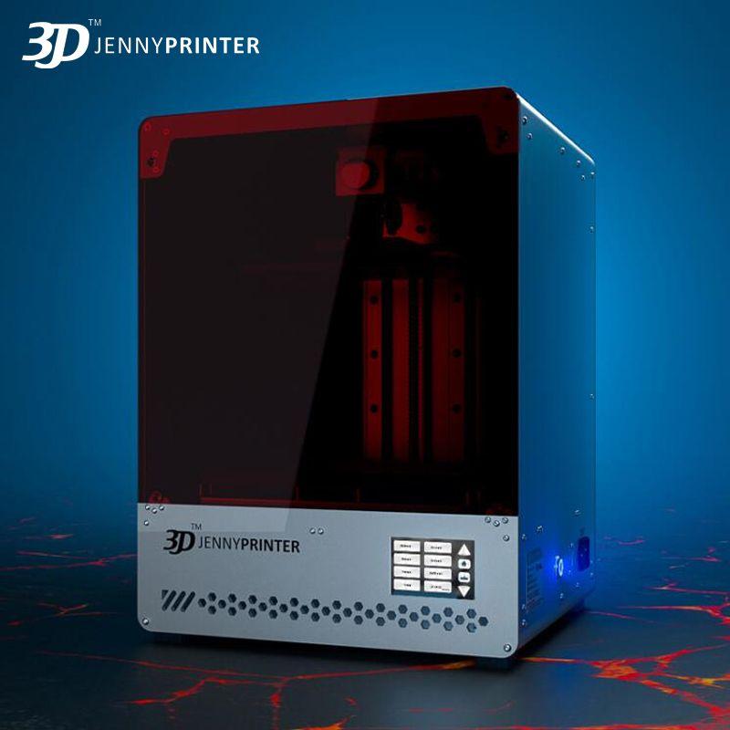 Jennyprinter licht härtende SLA/LCD 3D Drucker JennyLight1 + große volumen hohe 8,9 zoll 2 karat display DLP impresora schmuck