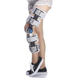 Medis Berengsel Tertarik ROM Penyangga Lutut Angle Adjustable Bedah Fiksasi Operasi Stabilisasi Fraktur Dukungan Keseleo Setelah Operasi