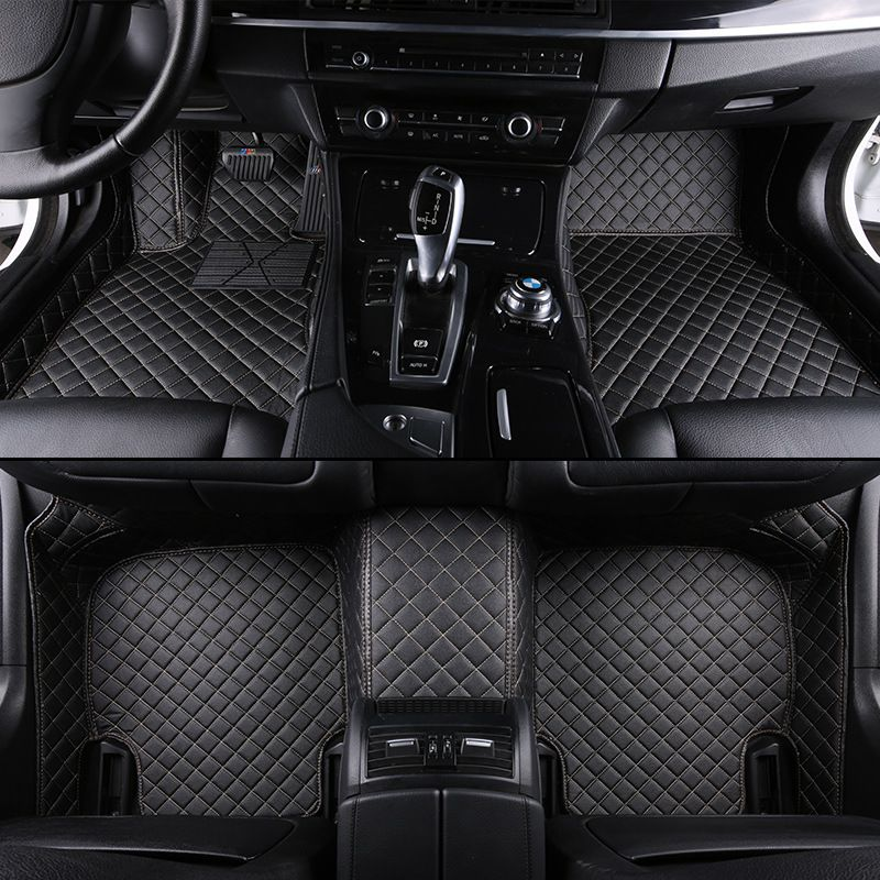 kalaisike Custom car floor mats are suitable for most car models auto styling
