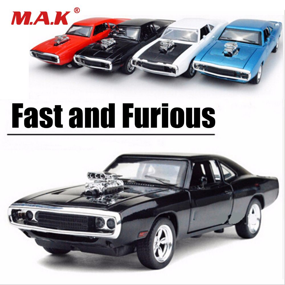1:32 Scale Fast and Furious Model Car Alloy Charger Pull Back Toy Cars Diecast Kids Toys Collection