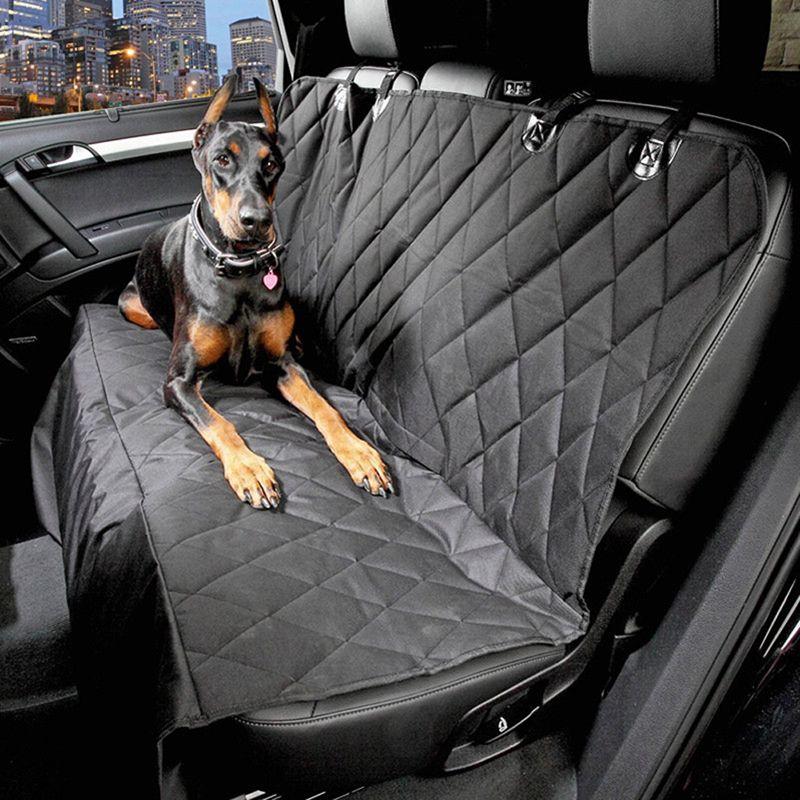 600D Oxford Pet Car <font><b>Seat</b></font> Covers Waterproof Back Bench <font><b>Seat</b></font> Car Interior Travel Accessories Car <font><b>Seat</b></font> Covers Mat for Pet Dogs