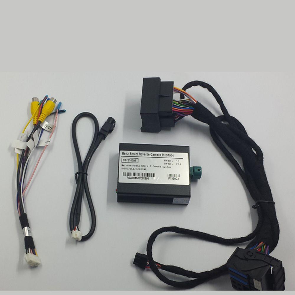 Auto Hinten Kamera Audio Video Interface Für Mercedes E Klasse W212 Mit Comand Online Audio 20 NTG4.5 System Parkplatz Richtlinien