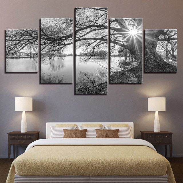 5ps 5D DIY Diamond mosaic landscape picture Diamond Painting Cross Stitch kits Diamond Embroidery tree pattern Home Decoration