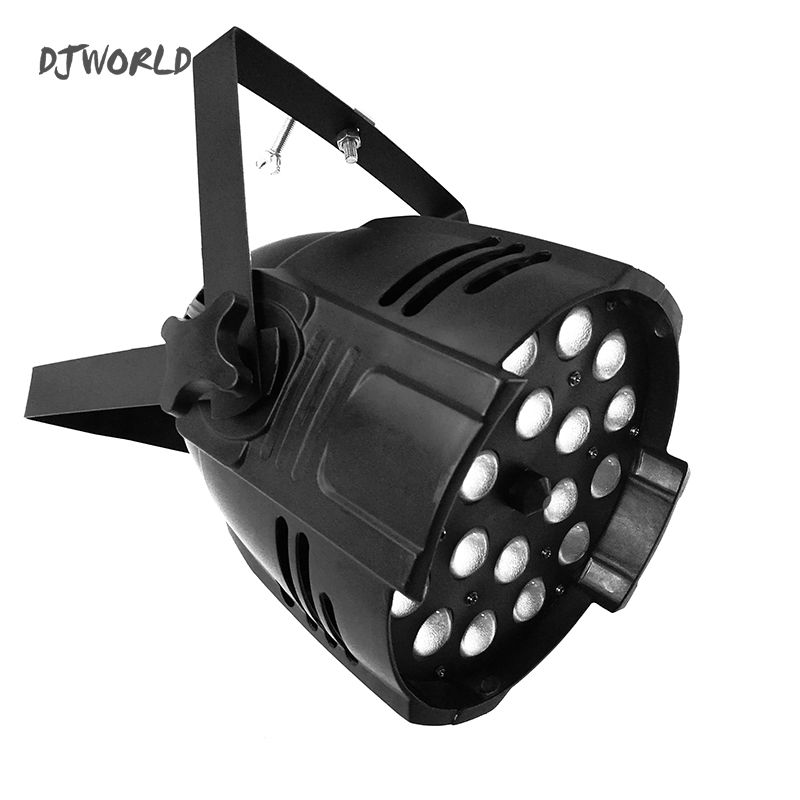 Can LED Par 18x12W RGBW 4in1 Zoom Aluminum House Perfect Lights For Clubs, Theaters, Churches, Concert Productions And Lighting