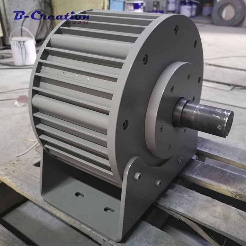 Fabrik preis 3000 w/3KW 220 v 360 v ac rare earth niedrigen DREHZAHLEN permanent magnet generator für home verwenden