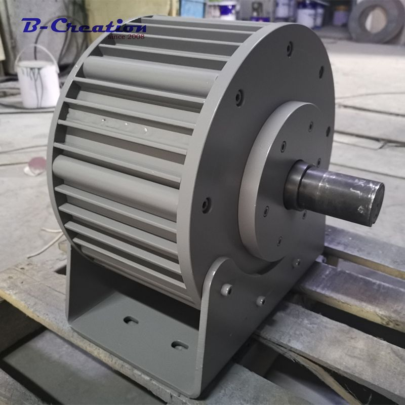 Factory price 3000w/3KW 220v 360v ac rare earth low RPM permanent magnet generator for home use