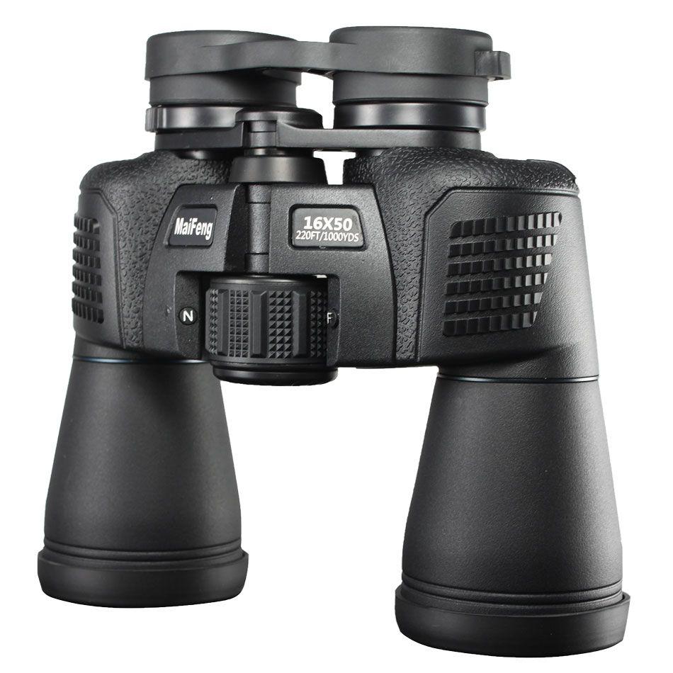 Jumelles puissantes de haute qualité 16x50 12x45 télescope de Camping jumelles imperméables bak4 FMC lentille de revêtement chasse militaire nouveau