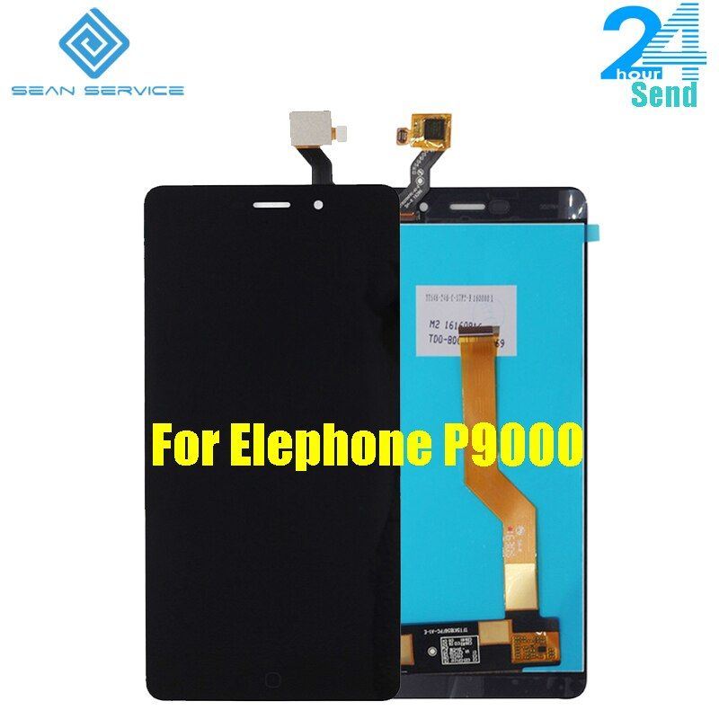 For Elephone P9000/P9000 Lite Original LCD Display and TP Touch Screen Digitizer Assembly lcds +Tools For P9000 1920X1080 5.5