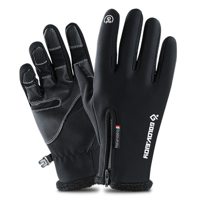 Touch Screen Ski Gloves Winter Fleece Windproof Snowboard Gloves Snow Motorcycle Skiing Gloves Sportswear Adult Kids Gloves