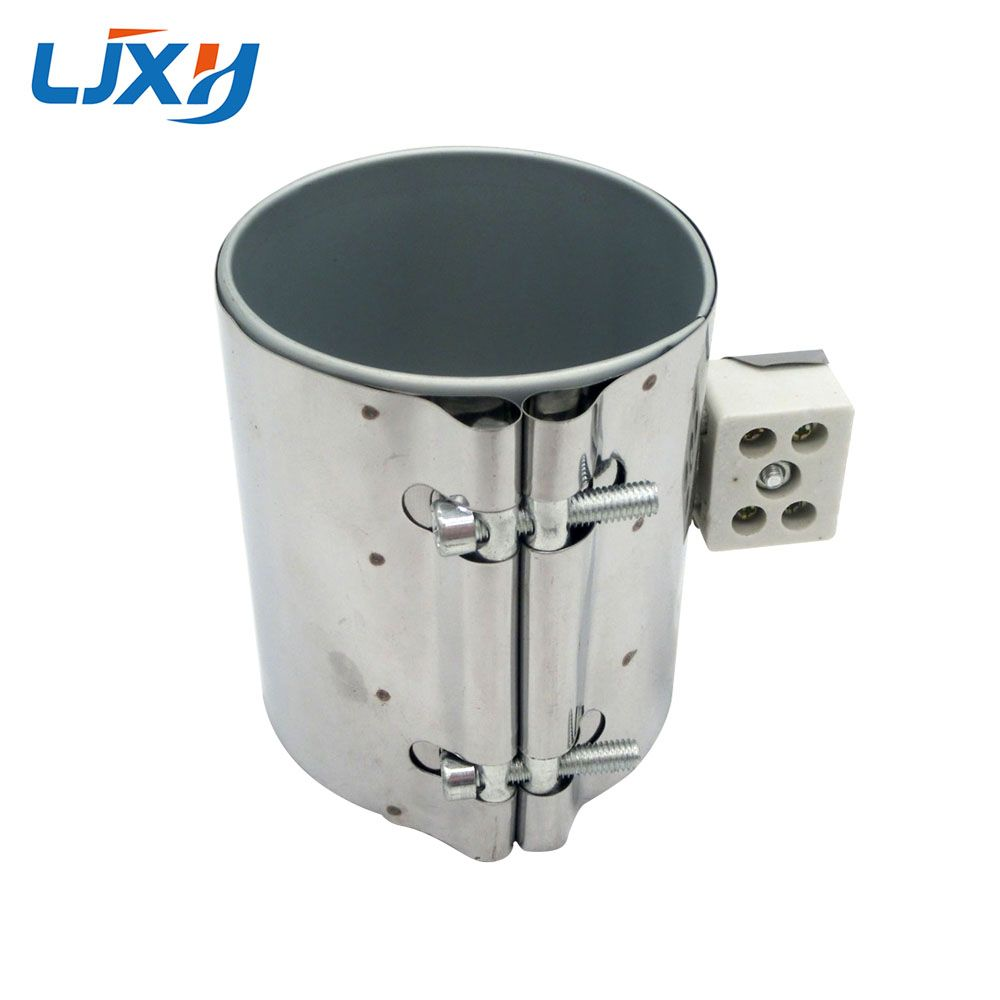 LJXH 85x60mm 450W 220V Mica Band Heater Stainless Steel Ceramic Electric Heating Element for Plastic Injection Machine