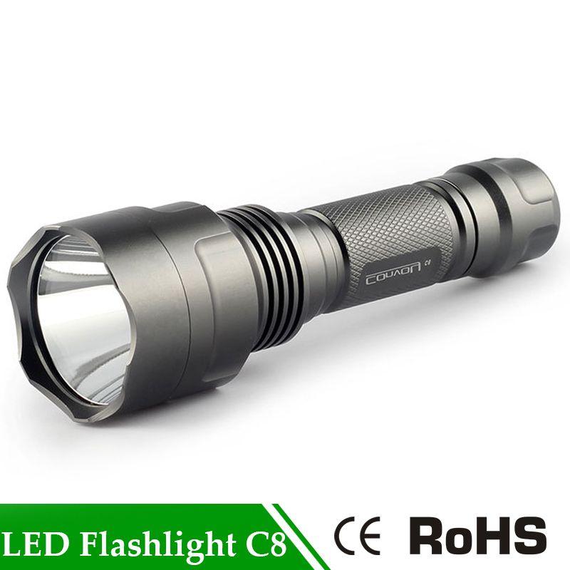 Конвой C8 Супер яркий светодиодный фонарик LED вспышка Факел Lanterna свет для кемпинга Охота самообороны Применение 18650 батарея