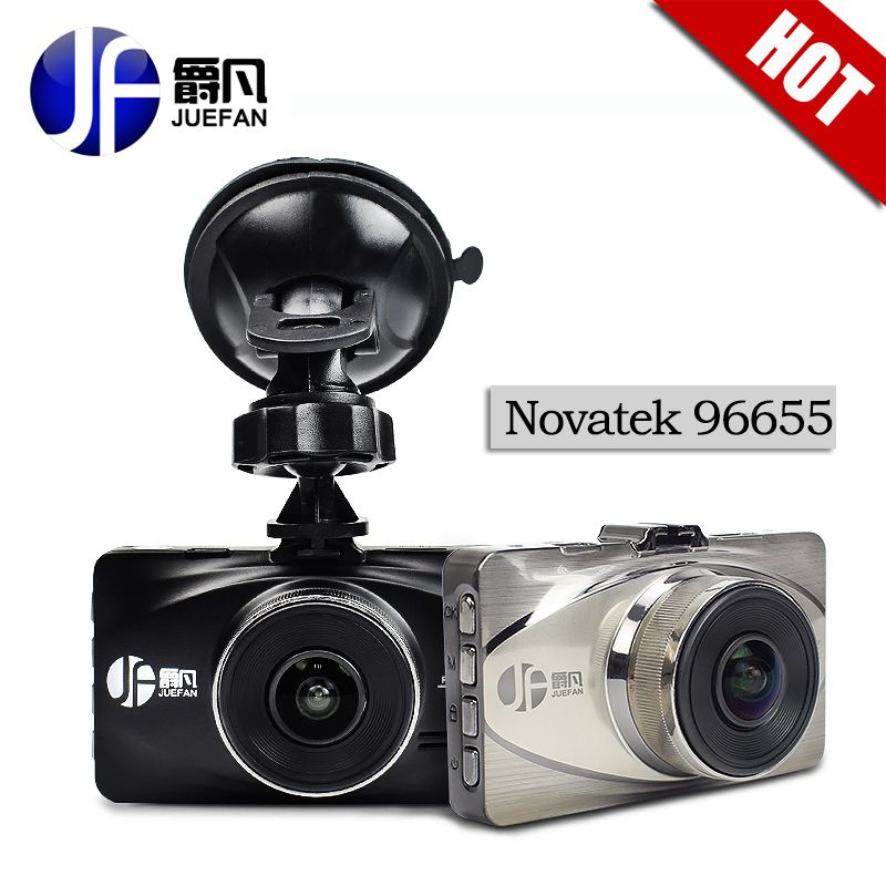 JUEFAN a119 Auto DVR volles HD 1080 P Novatek 96655 Auto Kamera Recorder Black Box 170 Grad 6 Objektiv WDR Abendessen Nachtsicht dash cam