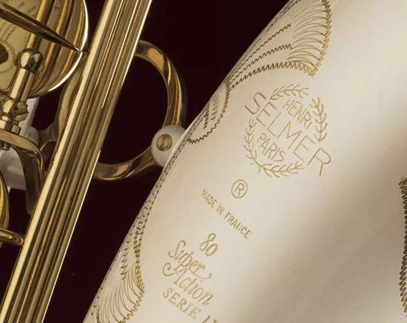 Musical Instrument SELMER 802 Tenor Bb Melodie Saxophon B Flache Messing Rohr Weiß Lack Oberfläche Saxophon Mit Mundstück geschenke
