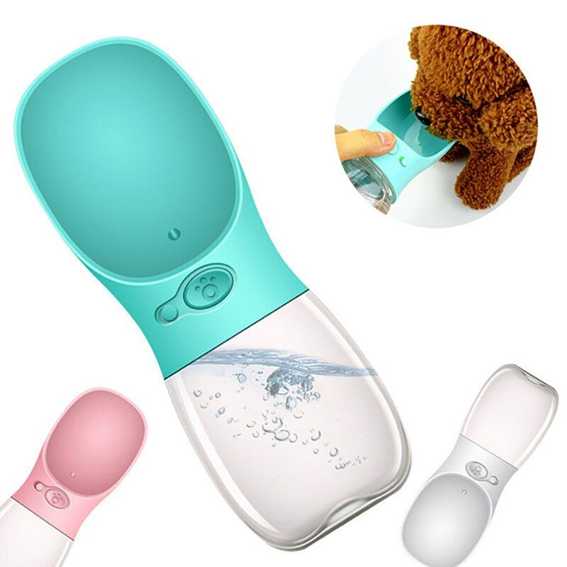 Date Chien Chat bouteille d'eau Portable Tasses de Voyage En Plein Air D'eau D'alimentation bol pour boire 350/550 ML Petite Grande Chiens Pet produits