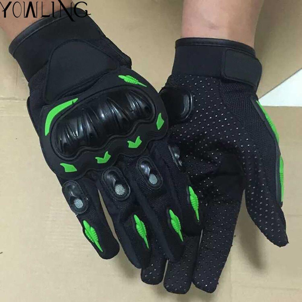 Professional sport motorcycle gloves men woman protect hands full finger guantes moto motocicleta guantes for Kawasaki z800 1000