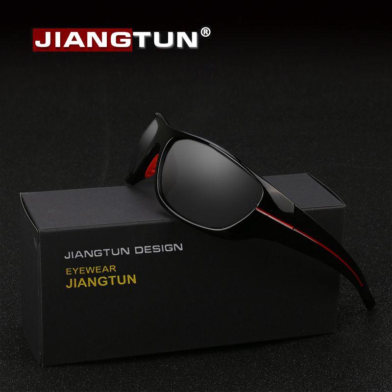 JIANGTUN offre spéciale qualité lunettes De soleil polarisées hommes femmes lunettes De soleil conduite Gafas De Sol Hipster essentiel