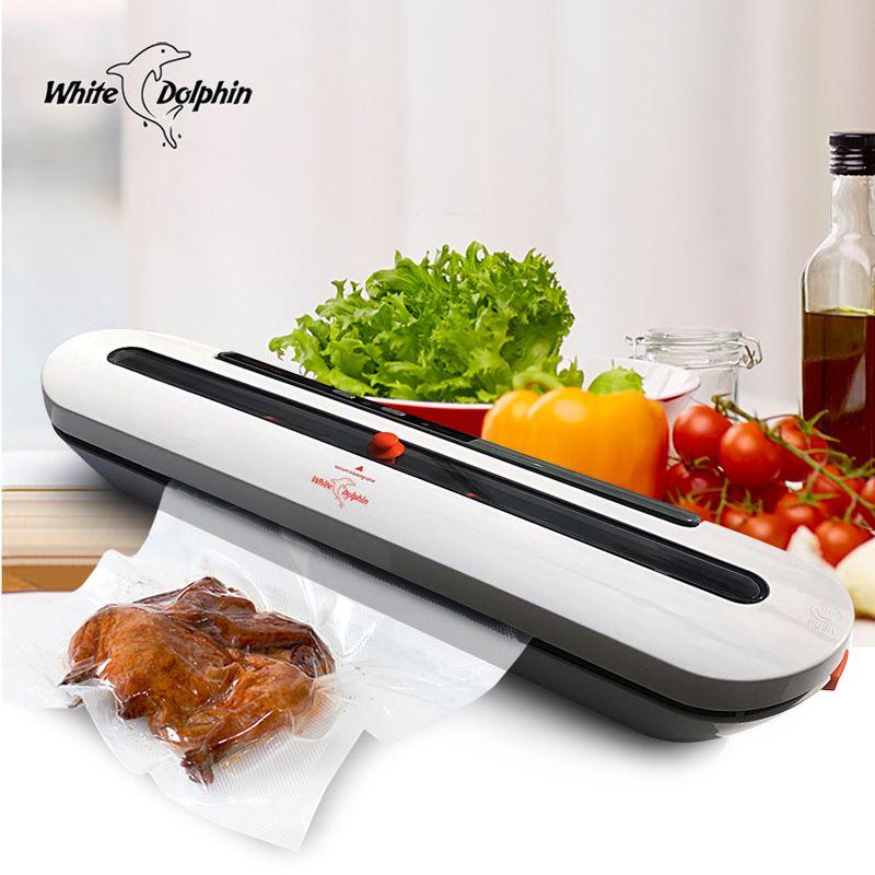 Alimentaire des ménages Vide Scellant Machine D'emballage Avec 10 pcs Sacs Livraison 220 V 110 V Automatique Commercial Meilleur Vide Alimentaire scellant Mini