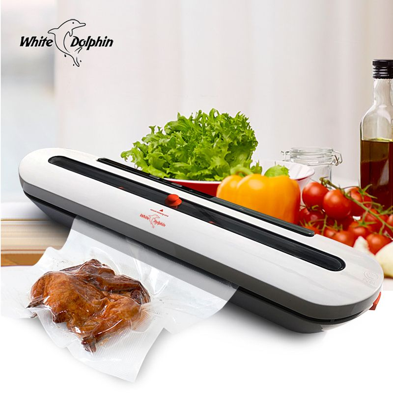 Household Food Vacuum Sealer Packaging Machine With 10pcs Bags Free 220V 110V Automatic Commercial Best Vacuum Food Sealer Mini