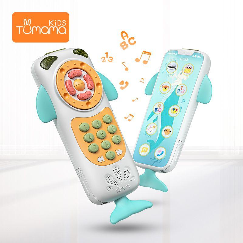 Bébé téléphone Mobile jouets mignons pour bébé musique téléphone jouets début éducatif 0-12 mois d'apprentissage téléphone bébé jouets