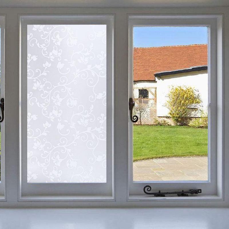 Fenster Abdeckfolien Hause Dekorative Kein Kleber 3D Statische Dekorative Anti Schimmel Matt selbstklebende Aufkleber