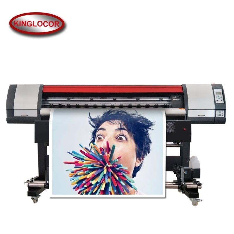 Professionelle Industrie 1,8 M/6 Fuß XP600 Digitaldruck Maschine Vinyl Flex Banner Drucker Outdoor Drucker Eco Lösungsmittel