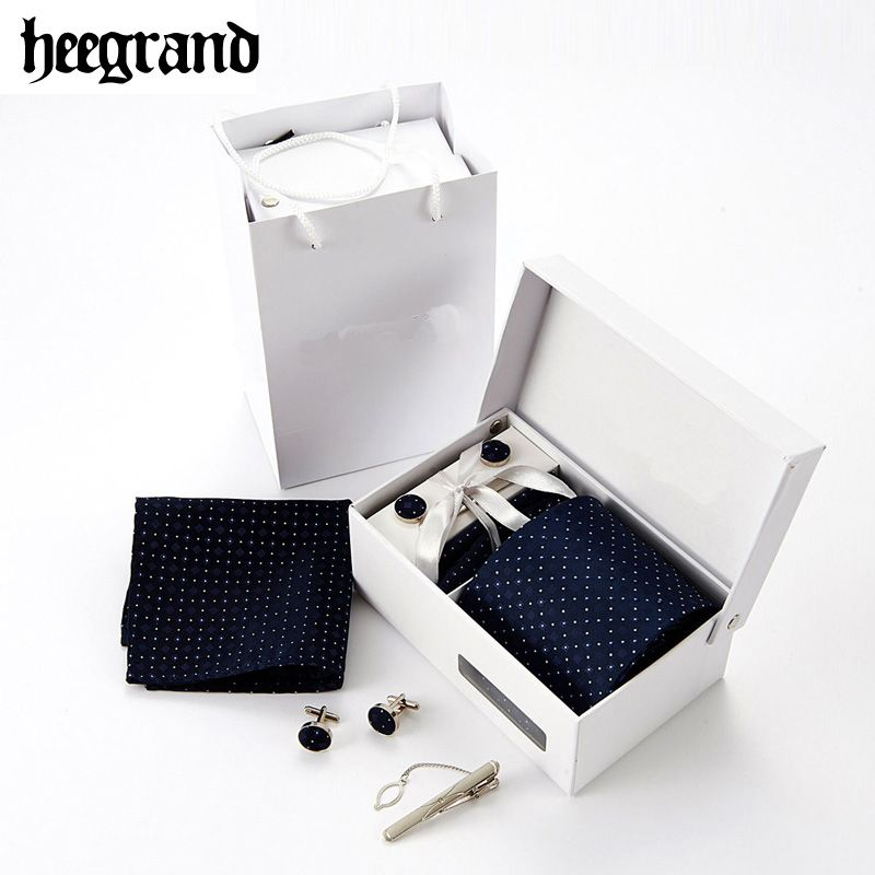 HEE GRAND 8,5 CM Männer Neuheit Krawatten Fashion Formal Gedruckt Krawatte Set Geschenk Casual Mann Krawatte PLD052