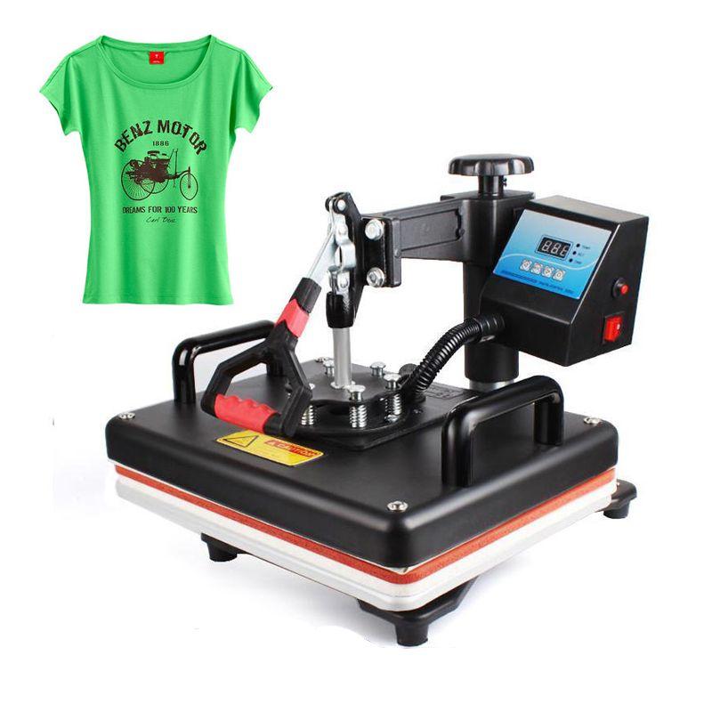 12x15 Zoll Hitze Presse Maschine T-shirt Druck Maschine Digitale Schaukel 29x38 CM Wärme Transfer Sublimation Drucker tuch DIY