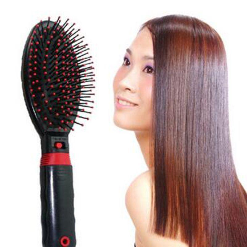 Heathsweet électrique givré peigne de Massage vibrant Massage brosse à cheveux Electrodos Relaxation Massage peigne soins des cheveux Hotsales