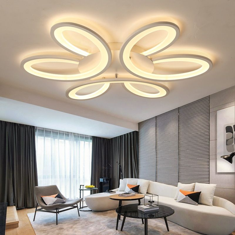 Ultra-thin art Surface Mounted Modern Led Ceiling Lights for Living room Bed room lamparas de techo led Ceiling lamp fixtures