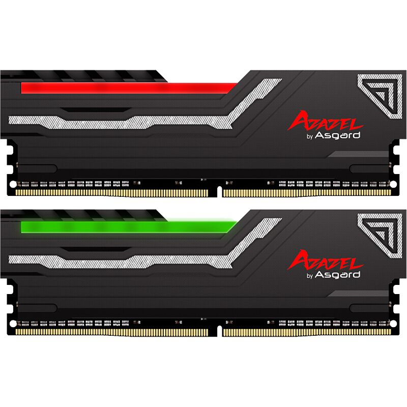 Asgard AZAZEL series RGB RAM 8GB 2X8GB 16GB DDR4 3200MHz 1.35V RAM for Desktop Gaming with high speed high performance