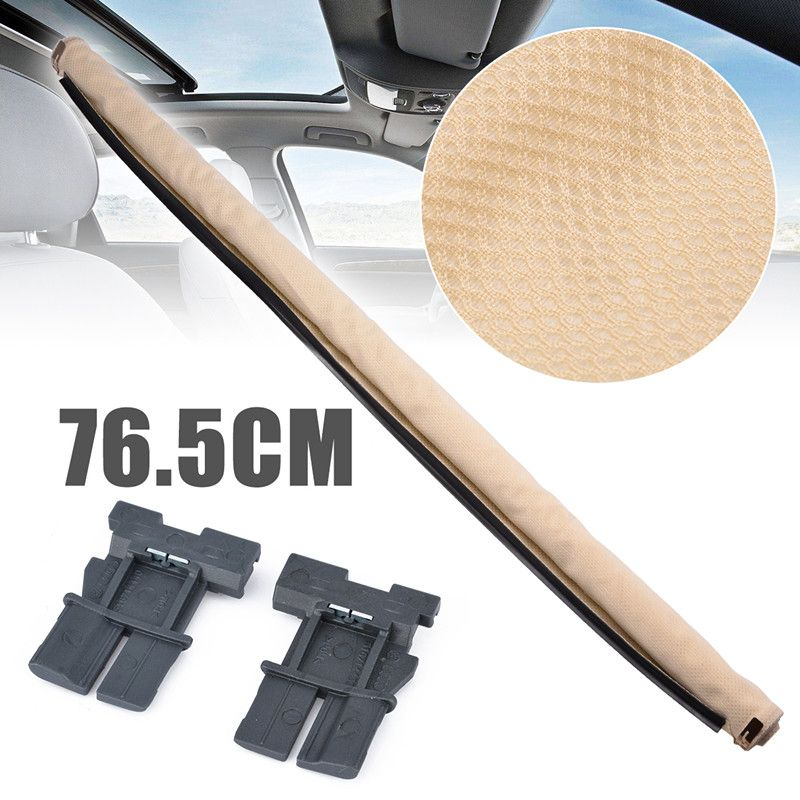 Car Styling Beige Car Interior Sunshade Curtain Sunroof Sunshade Corn 1K9877307B For VW Sharan Tiguan Golf Audi Q5 2009-2017