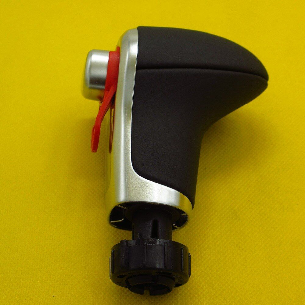 BLACK  Leather  GEAR  Shift Knob   FOR AUDI  Q7 Q5 A3 A4 A5 A6 A7  C6 C7  4G1 713 139