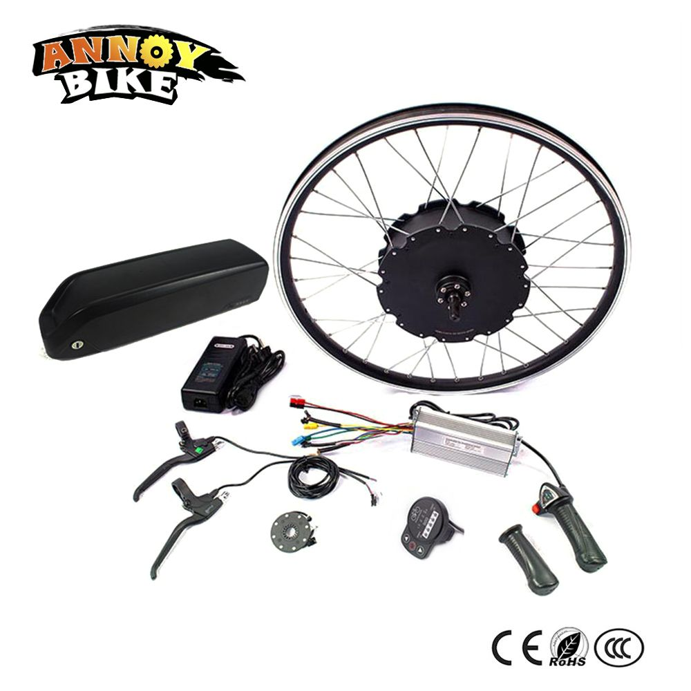 48V 1500W Motor Ebike kit Electric Bike Conversion kit for 20